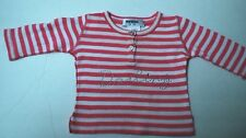 Beautiful Designer RYKIEL BEBE Infant Girls Striped Top 6 Months