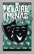 DOUBLE BLUFF #7 - CAROL ASHTON MYSTERY by Claire McNab - FIRST EDITION