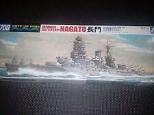 NAGATO Japanese battleship 1/700 AOSHIMA IJN