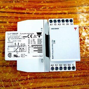 Carlo Gavazzi Pump Alternating Relay DLA71DB232P Italy