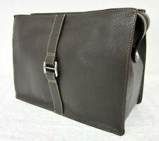 Size Toiletry Bag - Bellissima Creation Solingen - Real Leather Braun High