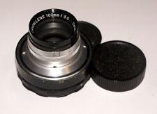 Canon 100 mm 3.5 Converted to M42 Vintage Compact Portrait lens 15 blades!