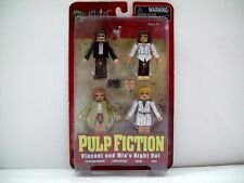 Minimates Pulp Fiction Vincent and Mia's night out twisting contest set