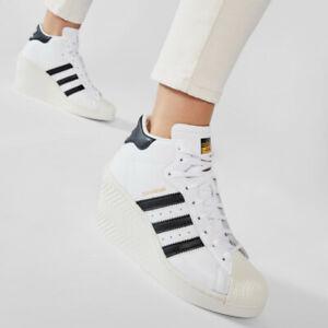 adidas Originals Womens Superstar Ellure Trainers wedge heel FW0102