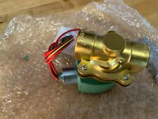 "12VDC Brass Solenoid Valve, Normally Closed, 1/2"" Pipe Size"