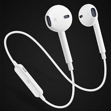 Wireless Bluetooth Sports Stereo Headphone Headset Earbud For iPhone X 8 Samsung