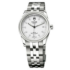 Tudor Glamour Date Ladies Diamond Watch 36mm, with Registration card