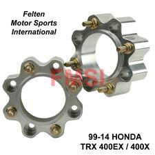 """Rear Aluminum Wheel Spacers 45mm 1-3/4"""" 1.75 Honda TRX400EX TRX 400EX 400X 99-14"""
