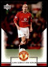 Upper Deck Manchester United 2002-2003 - Juan Sebastian Veron  No.4