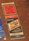 1930s Tempe AZ Harry Mitchell's BEER Advertising Matchbook Green Lantern Buffet!