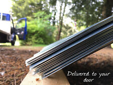 """Curved corrugated galvanised steel roof sheets 10/3 iron tin shepherds hut 7ft6"""""""