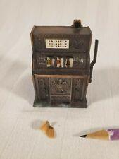 Vtg Copper Color Play Me Golden Eagle Slot Machine Pencil Sharpener ~ Hong Kong