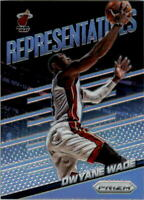 2014-15 Panini Prizm Representatives #11 Dwyane Wade - NM-MT