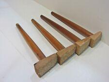 Couchfüße Konisch Sofafüße Holzbeine Möbelbein Möbelfüße Holzfüße Höhe 26,5 cm