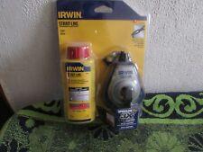 New 2007 Irwin Strait-Line Speedline Pro 3X & Chalk