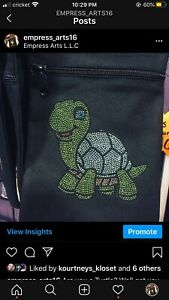 Are You A Turtle 🐢 Purse Crossbody 6X9 Inches Long Shoulder strap