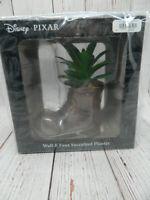 Disney Pixar Wall-E Boot Plant Faux Succulent Planter NEW
