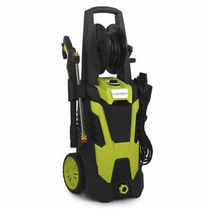 5 Quick-Connect spray tips, 3000PSI Electric Pressure Washer w/Hose Reel Kit and
