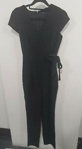 Portmans Black Workwear Jumpsuit Sz 6