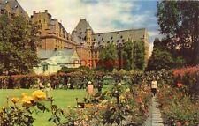 VICTORIA, B.C., CANADA - C.P.R. EMPRESS HOTEL AND ROSE GARDENS