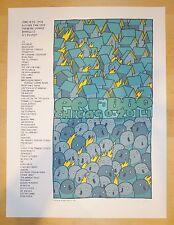 2014 PRF-BBQ - Silkscreen Concert Poster S/N by Jay Ryan