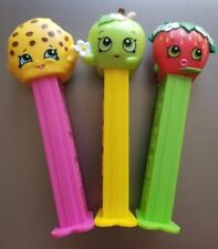 New  Pez-Shopkins*Set of 3* 2018 Release* Mint LOOSE*LOW PRICE!