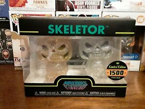 Funko Hikari! Skeletor ! Gold & Silver 2-Pack! 2017 Limited Edition 1500 Pieces!
