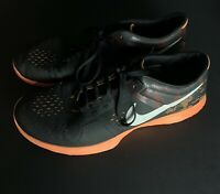 Mens Nike Black/Orange Size 13 Running Shoes Great Condition
