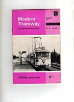 MODERN TRAMWAY & LIGHT RAILWAY REVIEW - UK VINTAGE MAGAZINE - DEC 1967