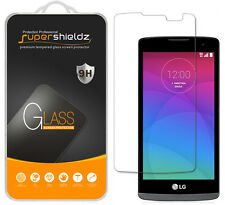 Supershieldz Tempered Glass Screen Protector Saver Shield For LG Leon LTE