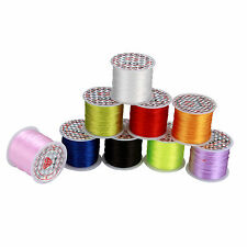 10/50m Stretch Cord Stretchy Cord Bracelet String Beading Thread Jewelry Handmad