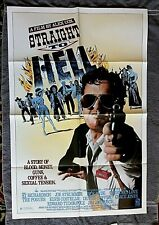 Straight to Hell Movie Poster COURTNEY LOVE Elvis Costello GRACE JONES Pogues 87