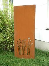 Sichtschutz metall rost g nstig kaufen ebay - Sichtschutzwand metall ...