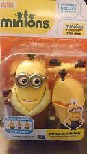 Despicable Me Minions Deluxe Action Fig. Build-A-Minion Arctic Kevin/Banana New