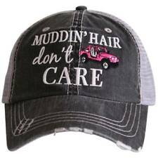 NWT Katydid Jeep/Muddin Hair Dont Care Trucker Hat