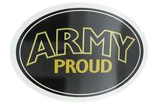 U.S. Army Proud USA Military Oval Car Refrigerator Magnet