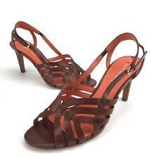 VIA SPIGA Brown leather beautiful strappy dress sandals Sz.9 M