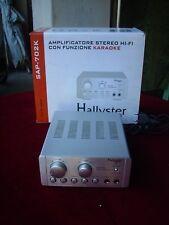 MINI AMPLIFICATORE HALLYSTER SAP-702K  STEREO CON KARAOKE SOUND