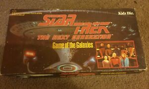Star Trek The Next Generation Game Of The Galaxies Board Game