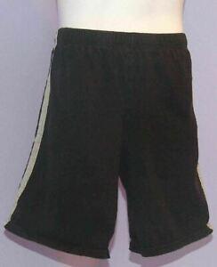 Boys Starter Black/Gray Shorts L 10/12