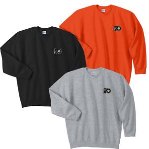 Philadelphia Flyers Crew Sweat Shirts  Embroidered