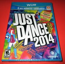 Just Dance 2014 Nintendo Wii U *Factory Sealed! *Free Shipping!