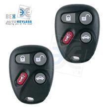 2 NEW Replacement Keyless Remote Key Fob for 2002-2005 Chevy Blazer/  GMC Jimmy