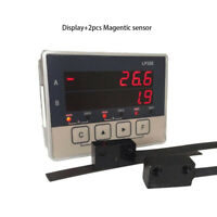 2 Axis DRO Display with 2pcs Magnetic Sensor Readout for Woodworking Stone