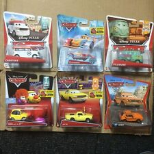 Disney cars Mattel lot of 6. With super chase circus carateka