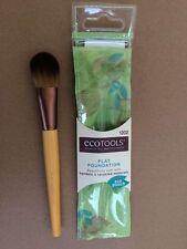 NEW Design EcoTools Makeup Foundation Brush Bamboo Brush Eco Tools