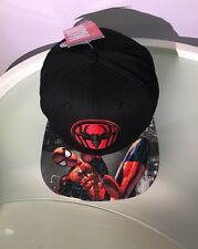 Bioworld Original Snapback Spider-man Adjustable Hat