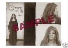 JANIS JOPLIN POLICE STATION PHOTO FLORIDA 1969 RARE 5x7 sepia toned  best source
