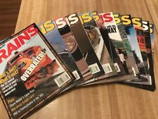 Vintage Trains Magazine Complete 2004 Set Train Collectible 12 Issues