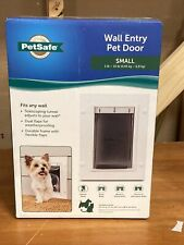 PetSafe Wall Entry Aluminum Pet Door Small - New Factory Sealed